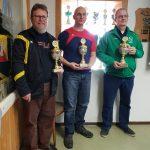 Pokal für die erste Mannschaft Luftpistole Verbandsoberliga